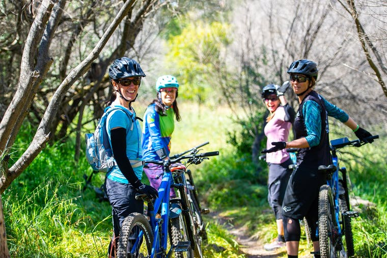 Mountain Bike Technique Development for Women