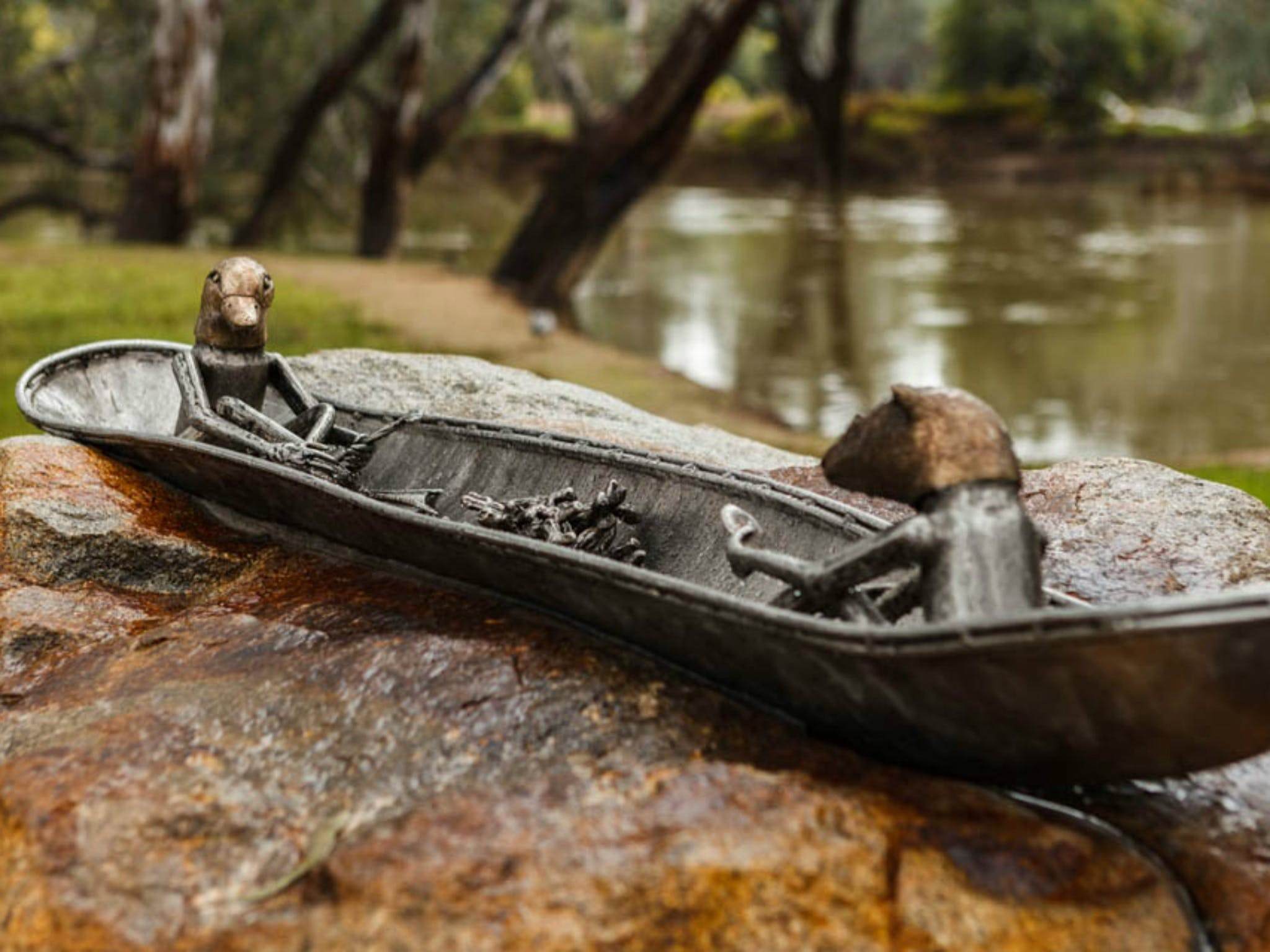 Canoe Sculpture