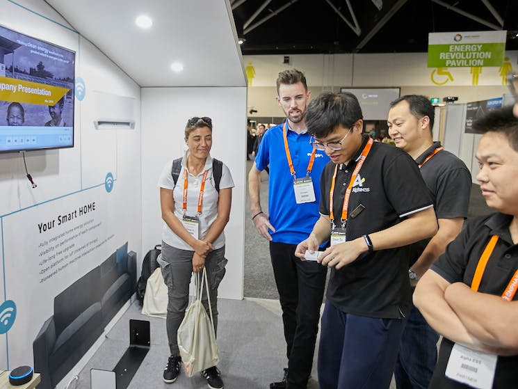 Smart Energy Conference & Exhibition - Alpha ESS interactive booth