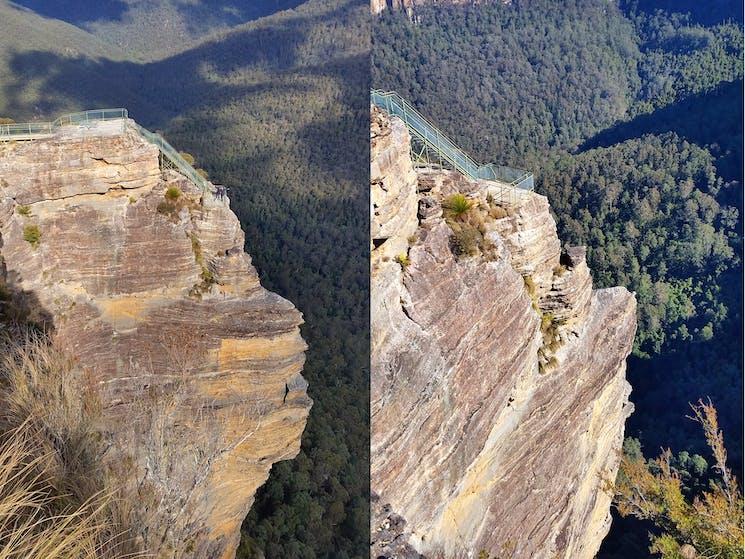 Pulpit Rock, visiting during Blue Mountains Tour