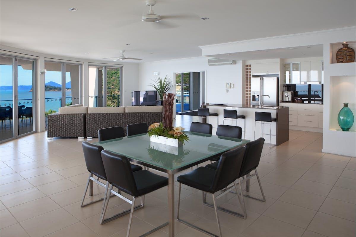 Penthouse Living area