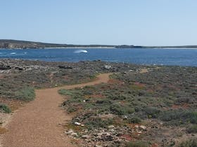 Elliston Coastal Trail view of Waterloo Bay