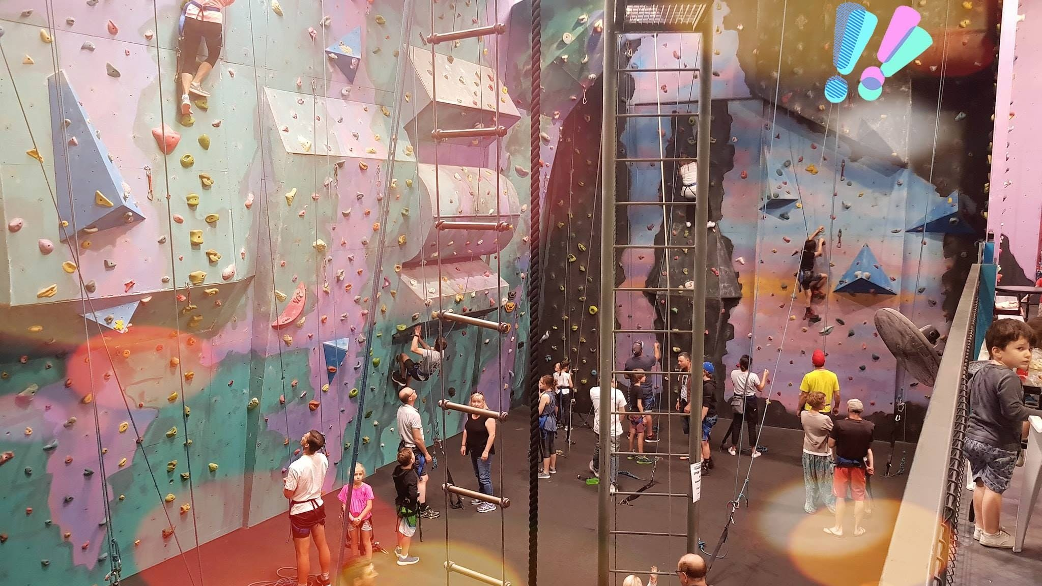 Centre Of Gravity Indoor Rock Climbing