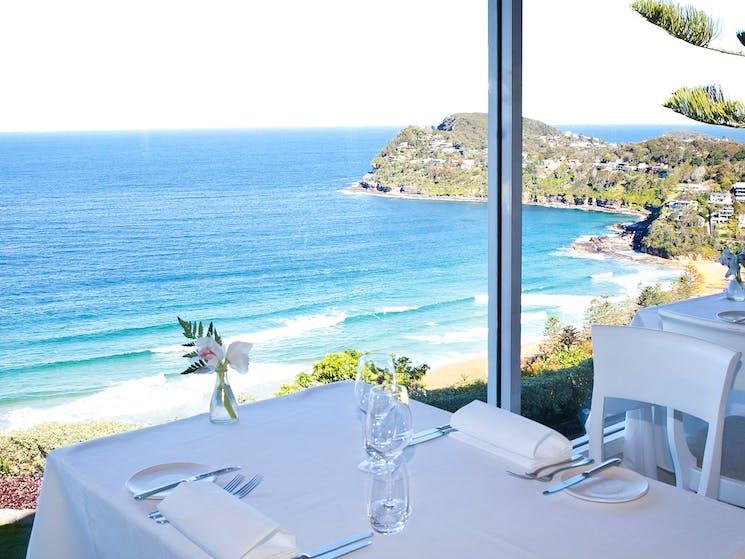 View from Jonah's restaurant