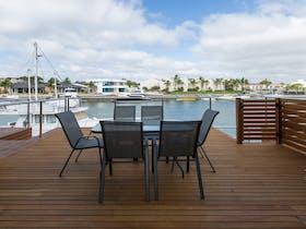 Back deck Entertaining Area