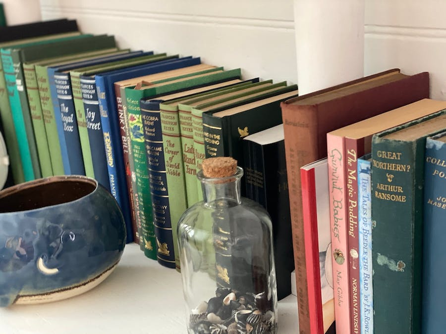 books with a cup of tea - perfect for a rainy day
