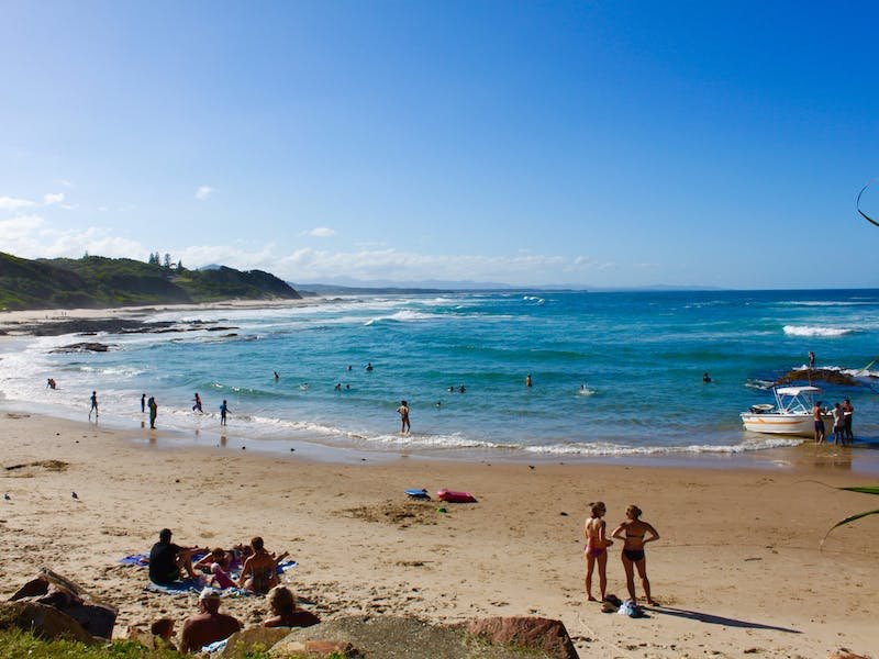 Fun for the whole family at Shelly Beach in Nambucca heads!