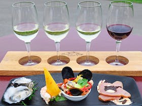 Matching Food and Wine Flight Eyre Peninsula Seafood Boston Bay Wines