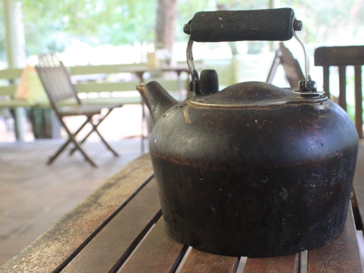 The Megalong Valley Tearooms - Teapot