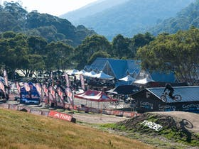 Rocky Trail event centre at Thredbo Resort.
