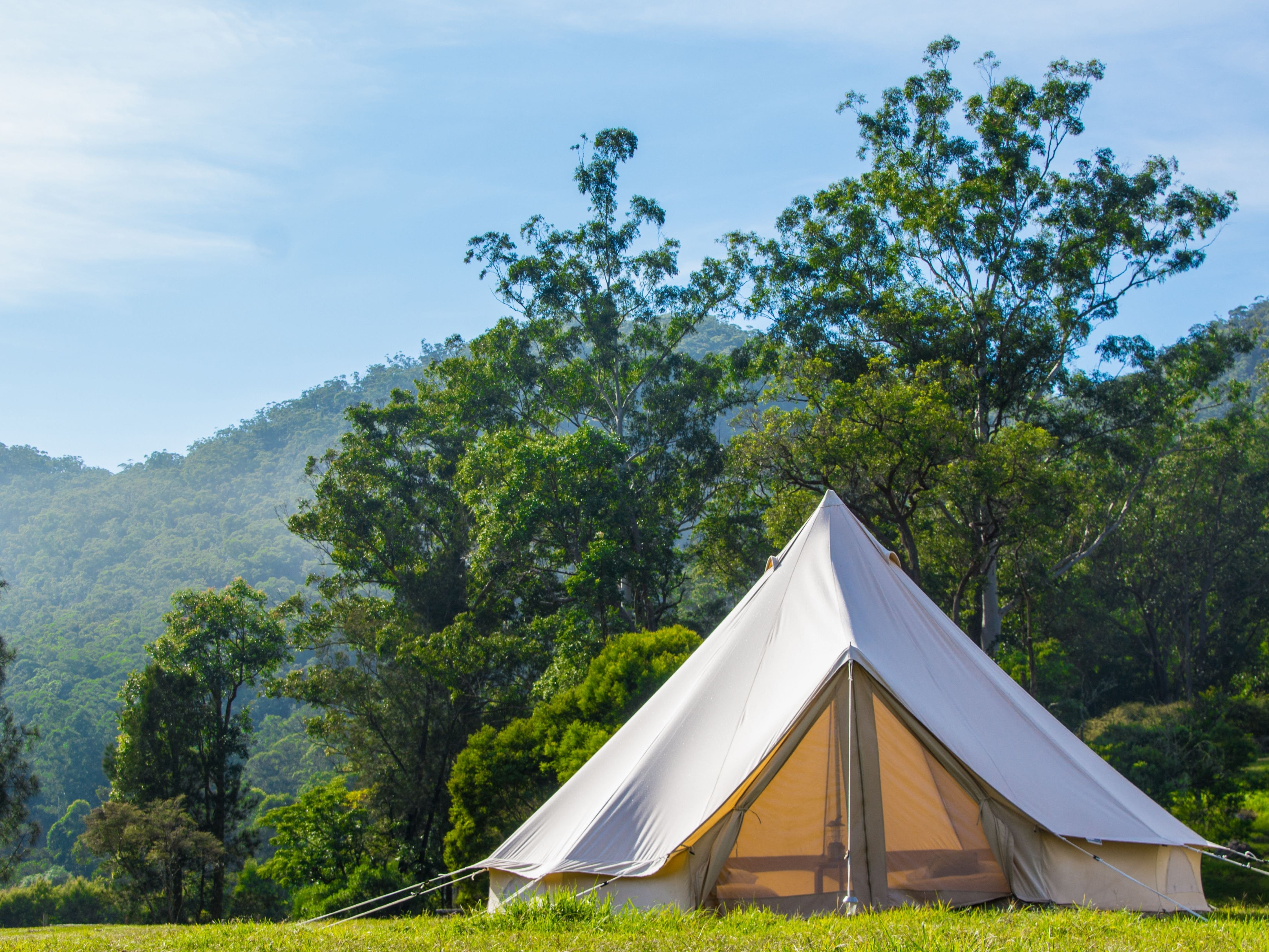 Luxury Glamping at Glenworth Valley