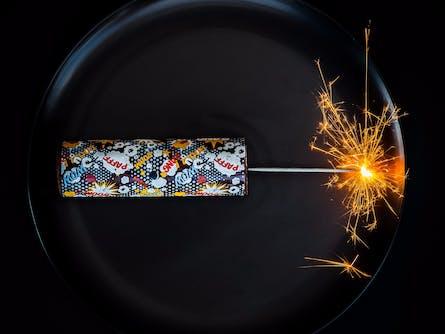 Shangri-La Hotel Presents Anna Polyviou's MasterChef Dessert: Anna's Firecracker