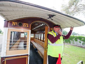 Portland Cable Trams, conductor, volunteer