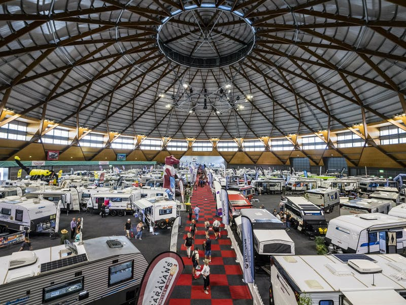 Caravan camping outdoor lifestyle expo sydney australia for Mercedes benz stadium will call location