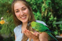 Bird feeding at Birdworld Kuranda