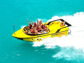 Airlie Beach Jet Boat - Jump on board, hold on tight, prepare to get wet!