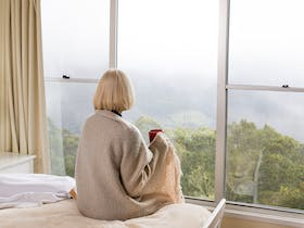 Spring Creek Mountain Views from Cottage - all cottages have views of spectacular Scenic Rim