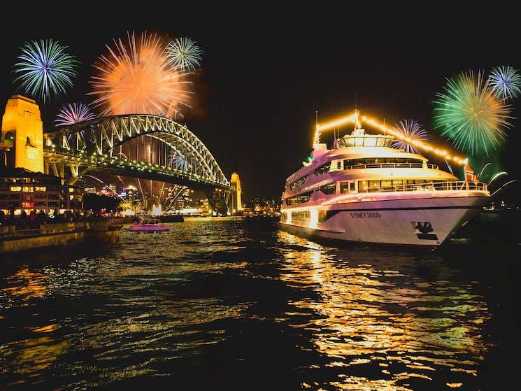 New Years Eve onboard MV Sydney 2000