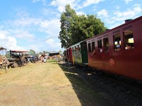 check out what's on  as Steam train runs through SteamFest