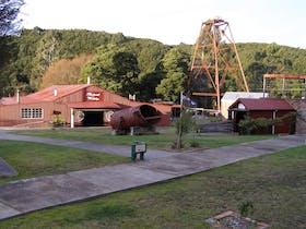 Yard area showing Blacksmith shop
