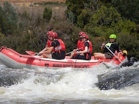 Rafting on the Derwent River