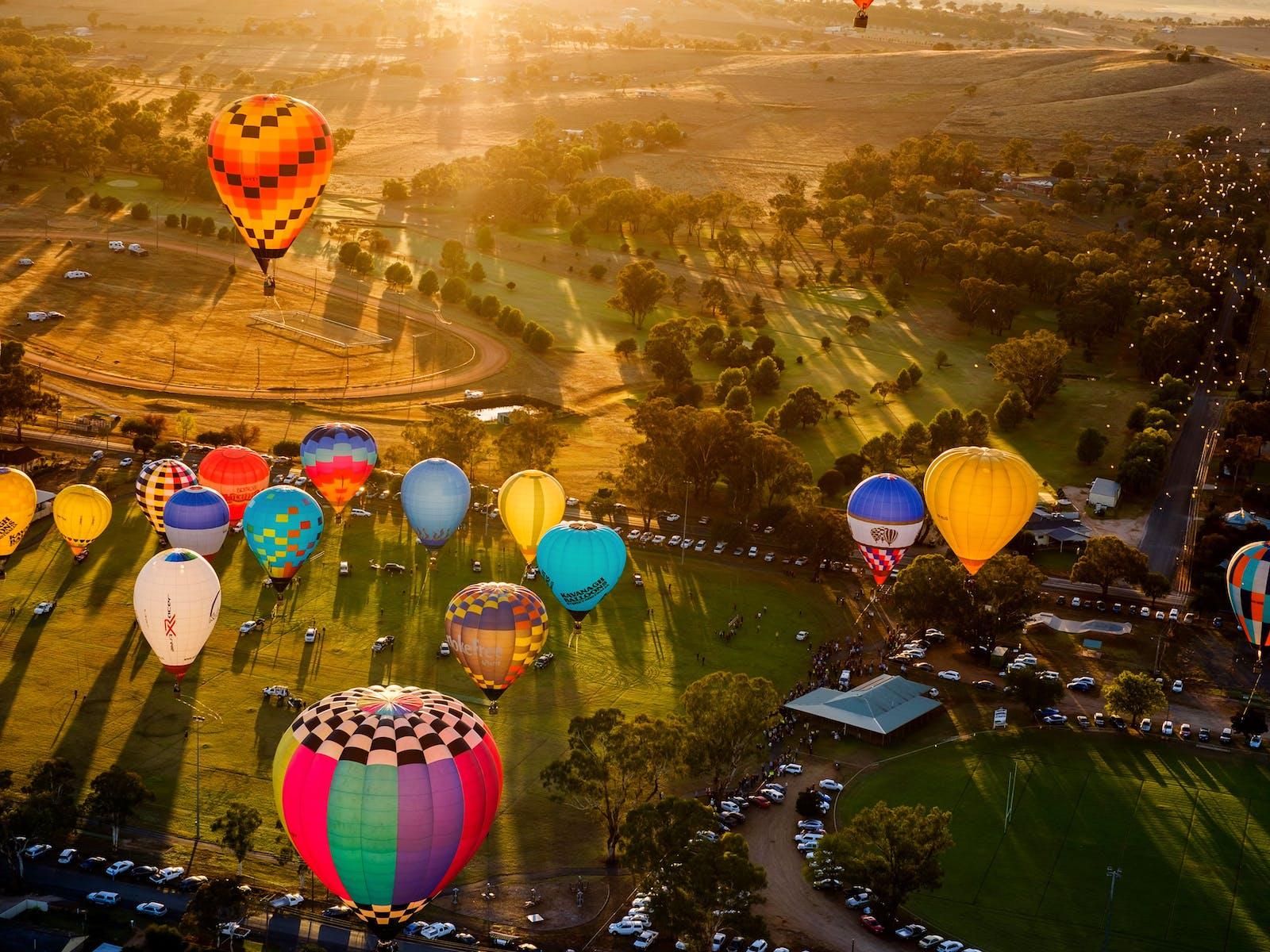 Image for Canowindra International Balloon Challenge