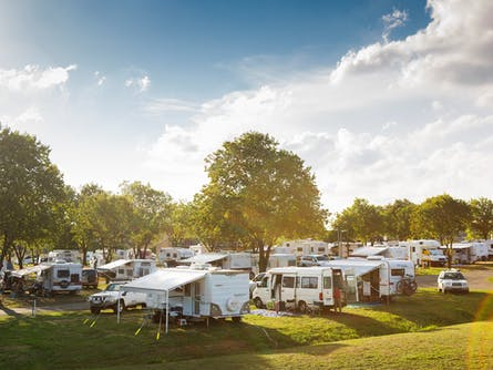 Exhibition Park in Canberra Camping Facilities