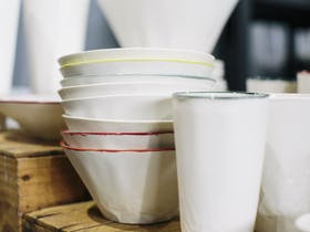Ceramic bowls and cups