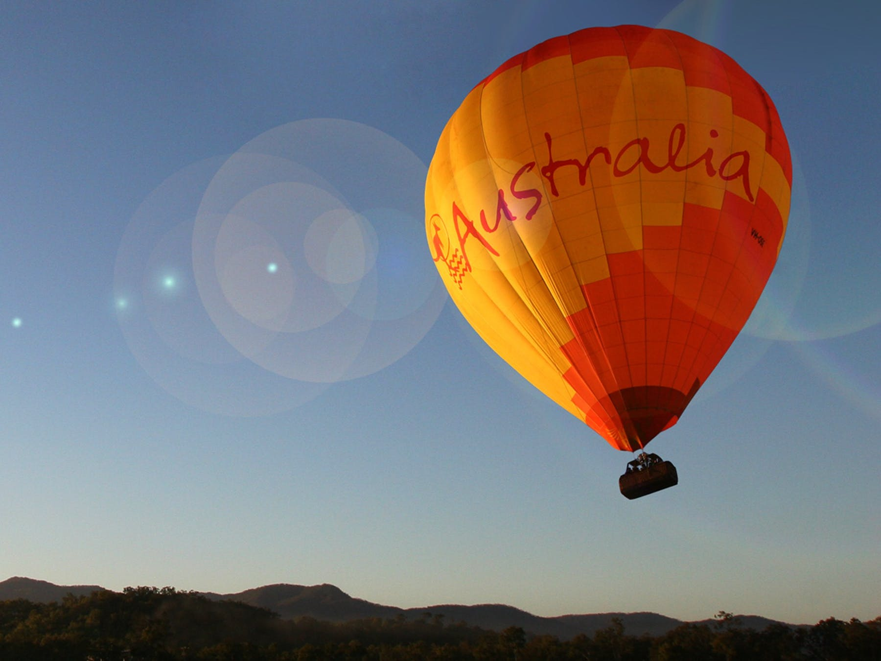 Hot Air Balloon Cairns Australia