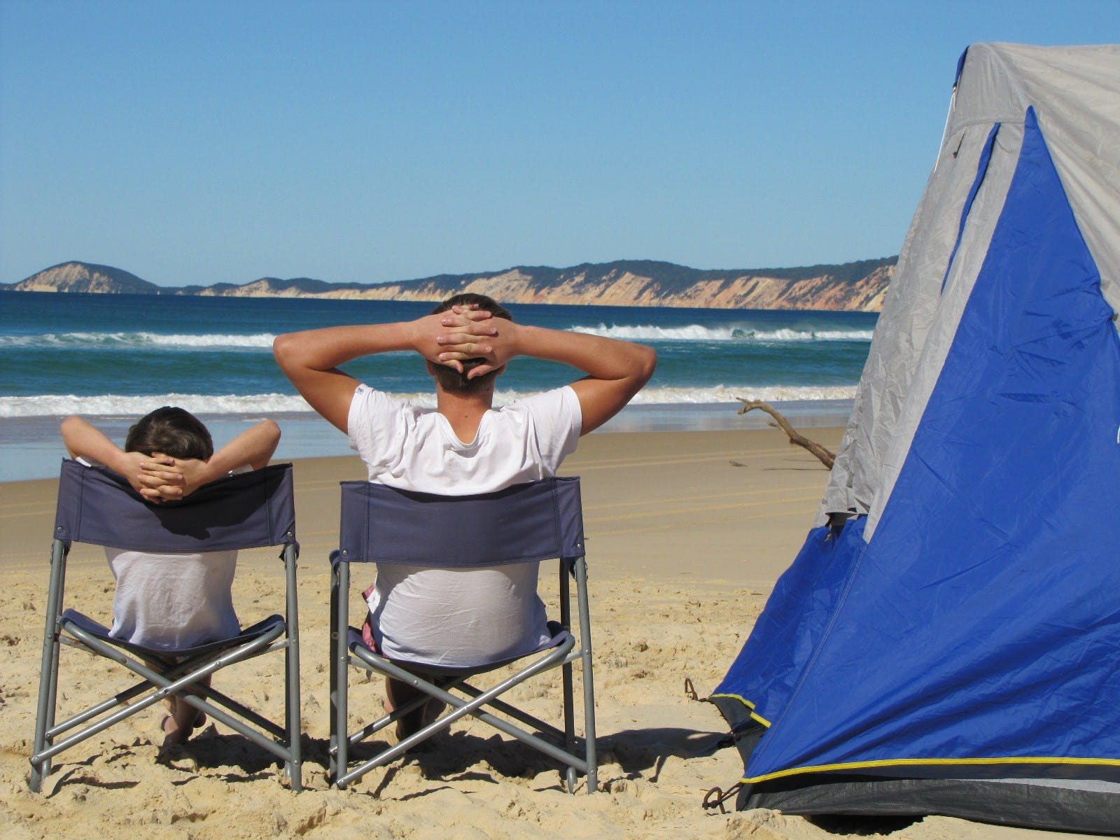 Beach Front Camping Accommodation