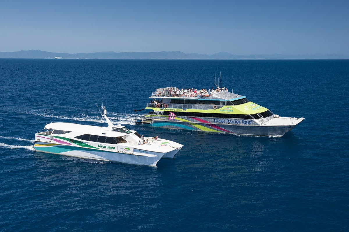 Great Barrier Reef Cruises - Green Island