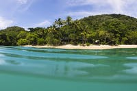 Foxy's bar from the water on Fitzroy Island