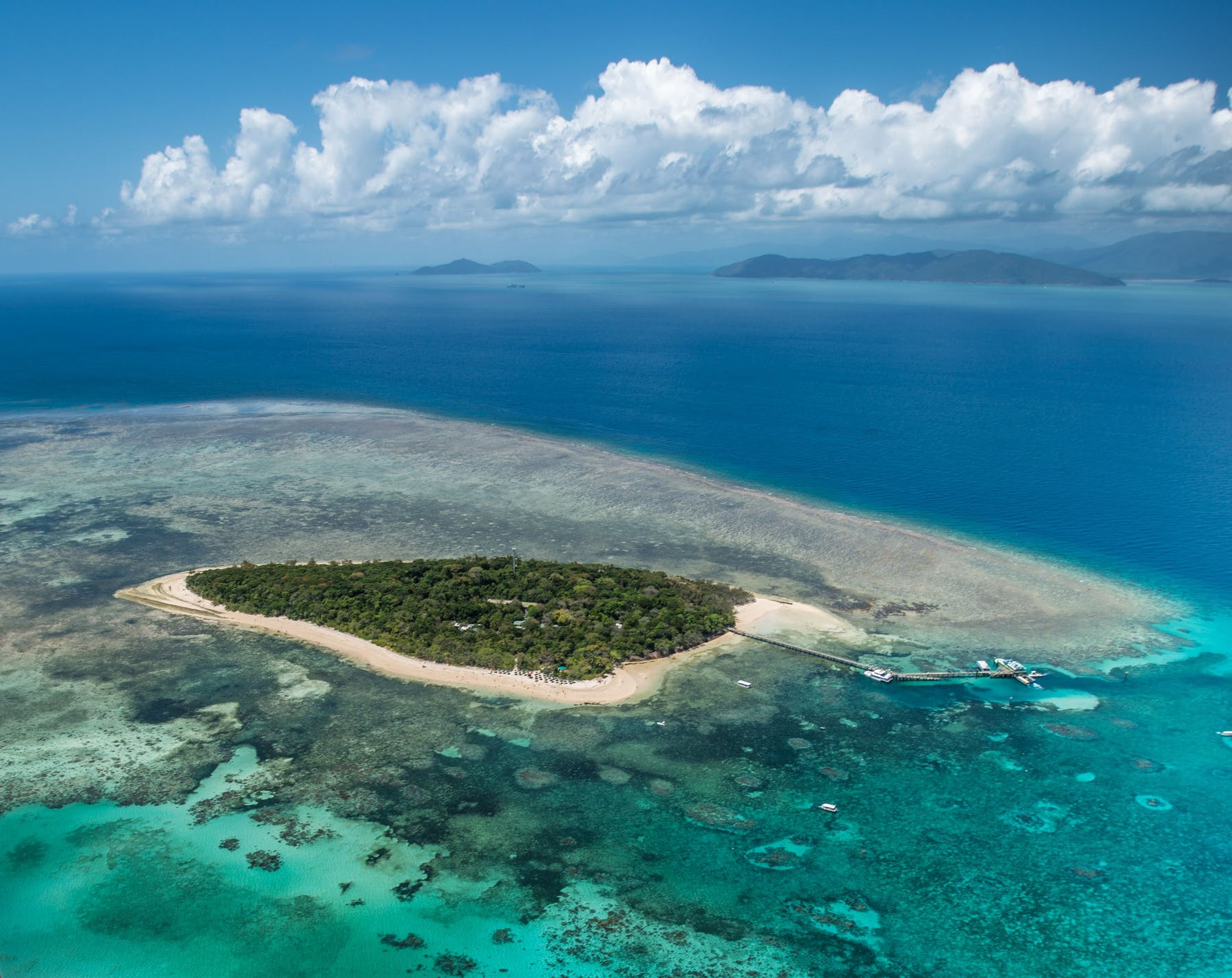 Green Island aerial