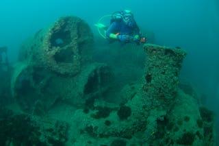 Cochrane Artificial Reef Dive Site