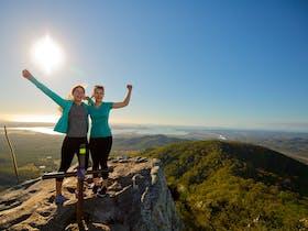 Mount Larcom Climb