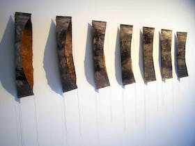 Mixed Media Installations: Five Day Art Workshop at Wrapt in Rocky 2016 with Gabriella Hegyes