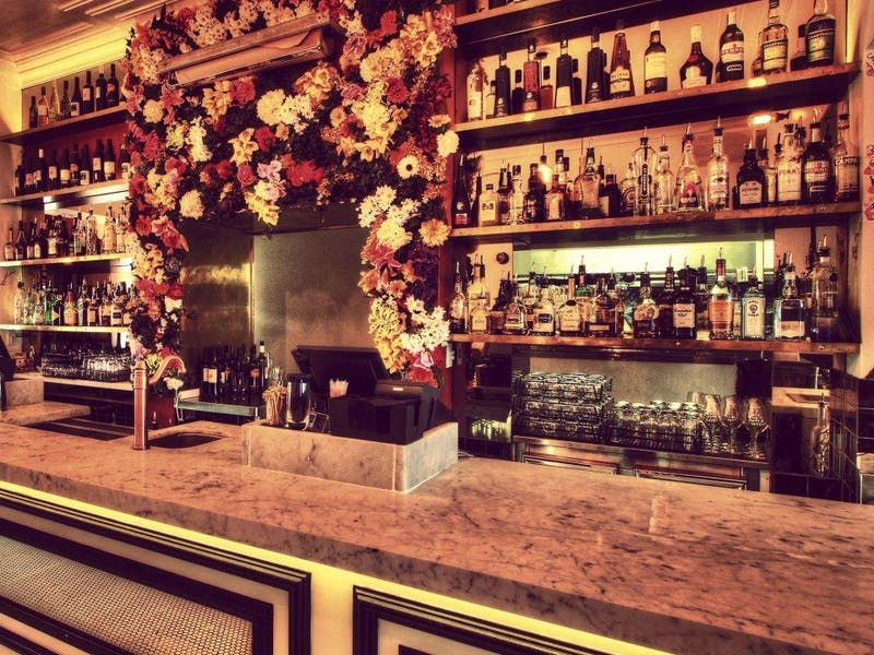 Their beautiful cocktail bar is open 6pm till 4am Wednesday to Sunday