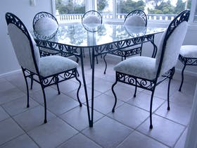 Custom designed furniture, indoor/outdoor, contemporary or classic.
