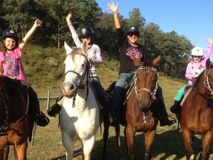 Family Horse Ride Sydney