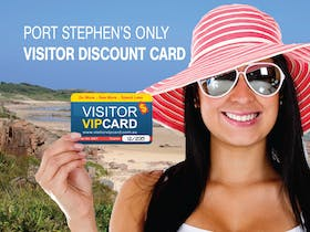 The Visitor VIP Card - Port Stephens' Visitor Discount Card