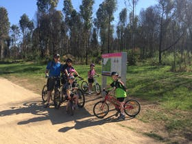 Wylde MTB Trail in Western Sydney Parklands