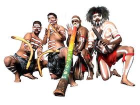 Walangari Karntawarra and Diramu Aboriginal Dance and Didgeridoo