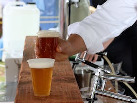 Local Beer. Image supplied by Sapphire Coast Tourism