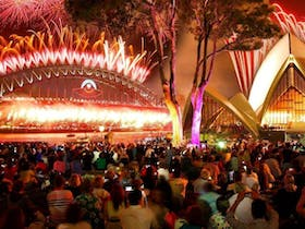 New Years Eve at the Royal Botanic Gardens