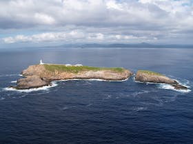 South Solitary Island is located 18km offshore from Coffs Harbour