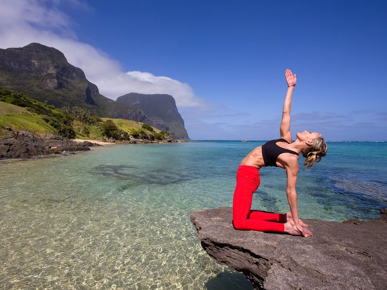 Image of the event 'Wellness Week with Charlotte Dodson at Pinetrees Lord Howe Island'