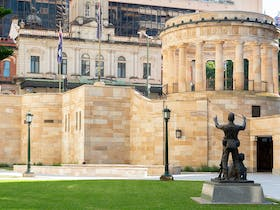 Anzac Square and Memorial Galleries