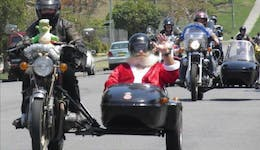 Image of the event 'Natureland Classic Motorcycle Club Toy Run'
