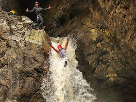 Waterfall, Canyoning, Canyon, Cradle Mountain, Tasmania