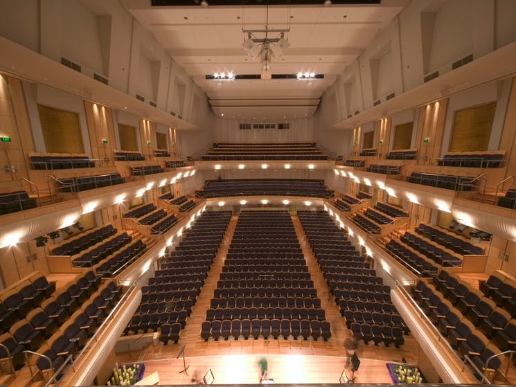 City Recital Hall Auditorium